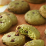 delicious matcha and dark chocolate cookies